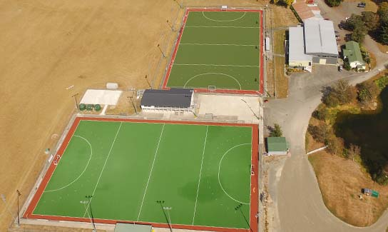 sports grounds aerial